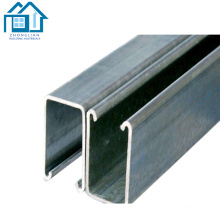 Steel Profiles galvanized u channel steel sizes
